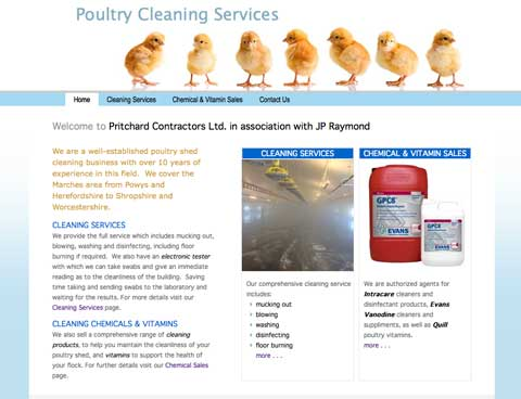 poultry cleaning
